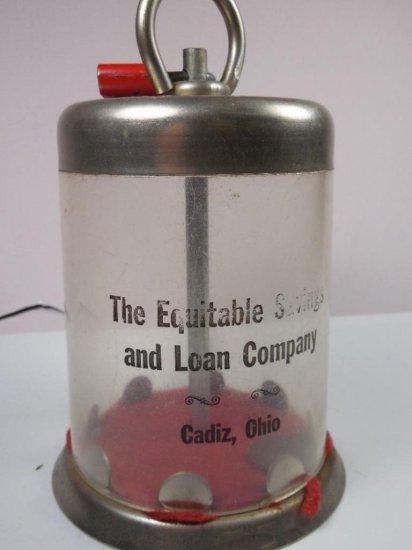 Equitable Savings And Loan Co. Desk Advertising Bank