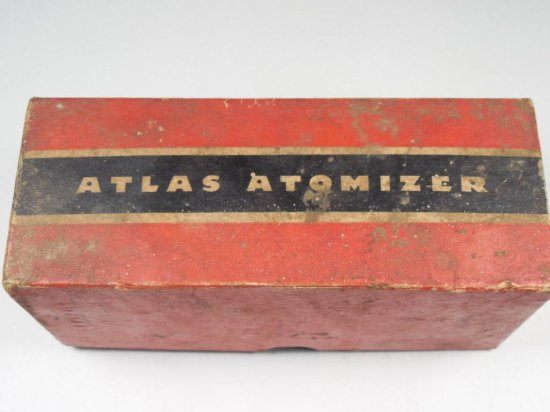 Antique Atlas Perfume Atomizer In Box