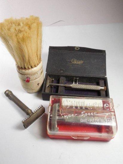Shaving Lot Including Gillette, Christy Etc