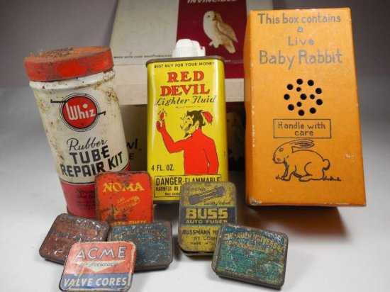 Great Lot Of Vintage Advertising Tins
