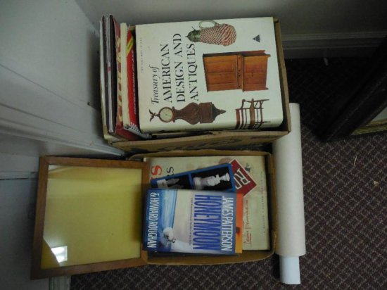 Large Group Lot Of Books And Paper, Etc