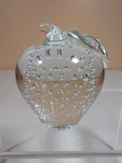 Erickson Type Controlled Bubble Glass Apple
