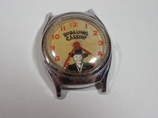 Vintage Hopalong Cassidy Advertising Watch