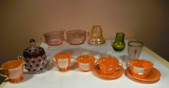 Huge Group Lot Of Vintage Glass Inc. Fire King