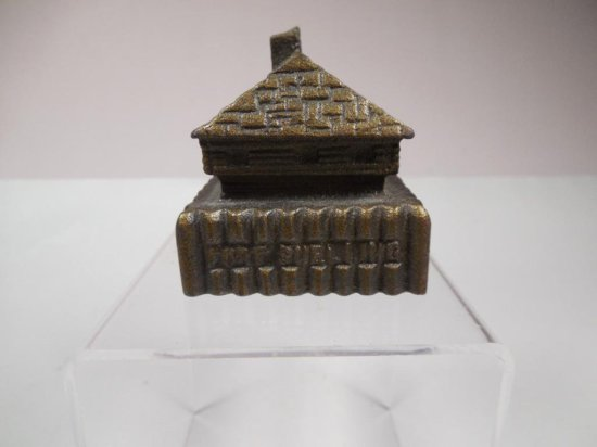 Antique Iron Fort Snelling Building Paperweight