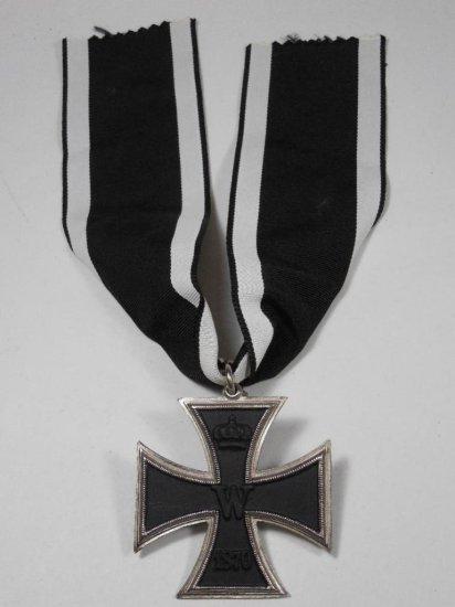 German Iron Cross Medal On Ribbon