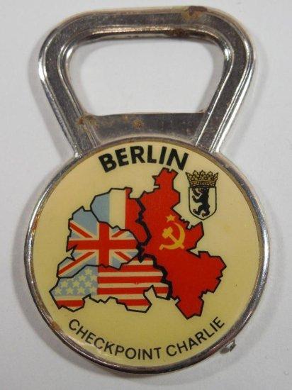 Vintage Berlin Checkpoint Charlie Bottle Opener