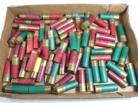 Huge Lot Of Vintage And Old Shotgun Shells