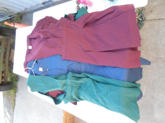 Group Lot Of Girl's School Uniforms - Solid Color