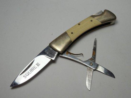 Vintage Squire II Explorer Pocket Knife