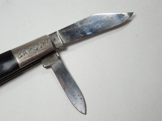 Vintage Barlow Pocket Knife Hammer Brand