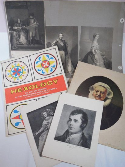Ephemera group lot including early prints
