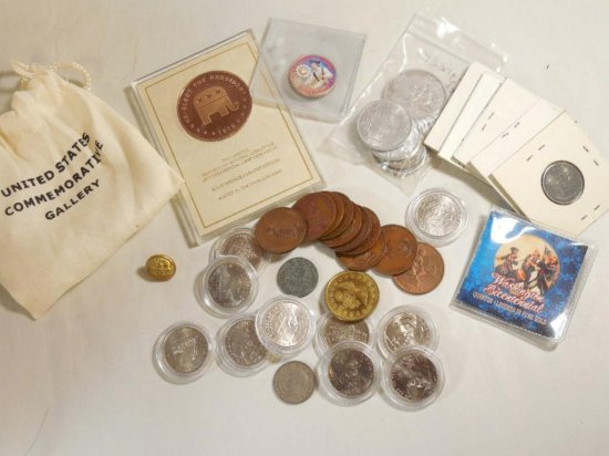 Large Old Coin Group Lot