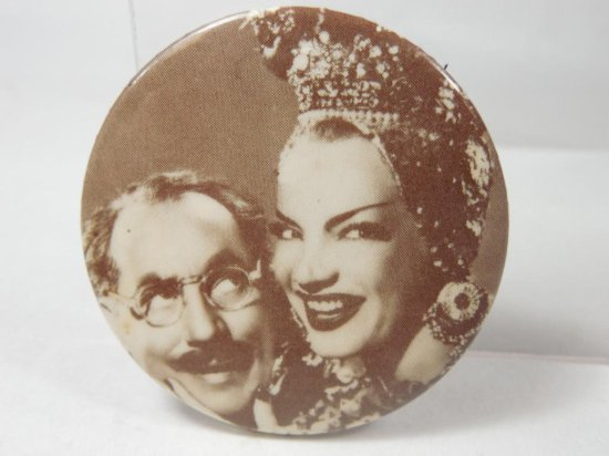 Antique Groucho Marx Advertising Button
