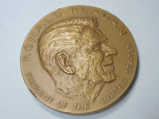 Ronald Reagan Bronze Mint Medal