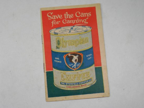 Save The Cans For Canning Advertising Brochure