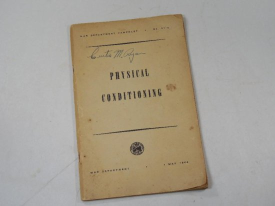 Wwii Military Manual 1944 Physical Conditioning