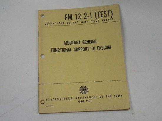 Dept Of Navy 1967 Adjutant General Functional Support