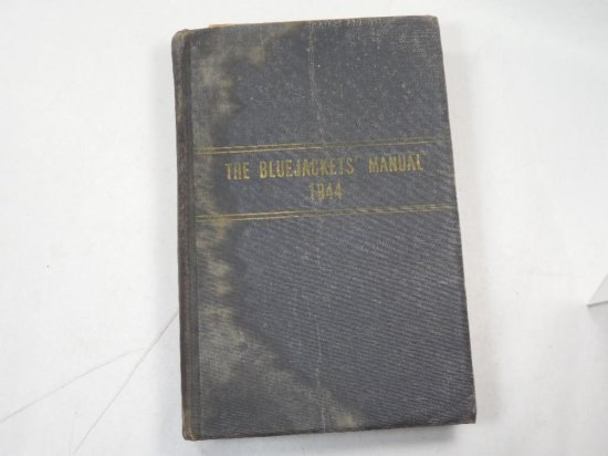 Wwii Blue Jackets Manual Military Navy Book