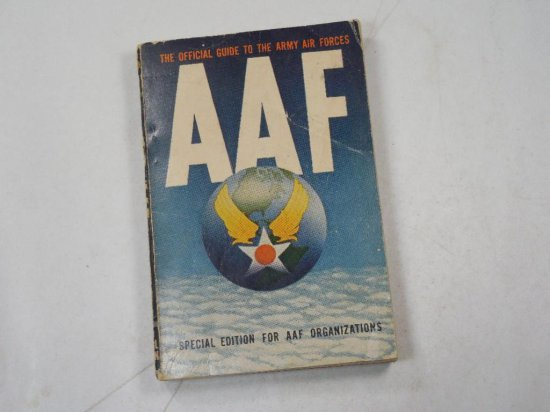 Aaf Official Guide To Army Air Forces Book Manual Wwii
