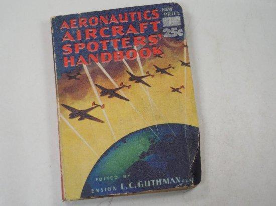 Wwii Army Air Force Aeronautics Aircraft Spotters Handbook