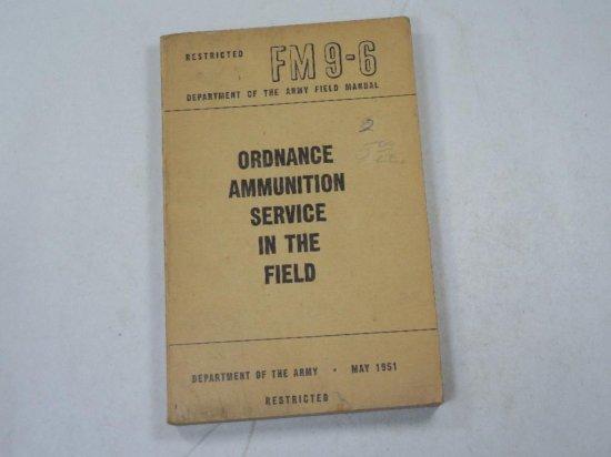 Korean War 1951 Army Ordnance Ammunition Service In The Field