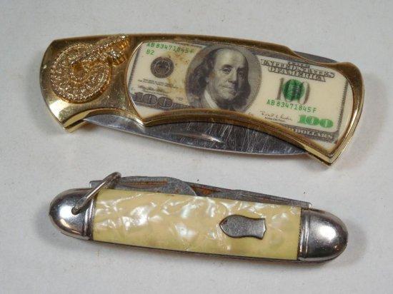 2 Vintage Pocket Knives