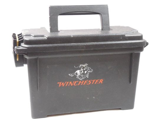 Vintage Winchester Plastic Ammo Can