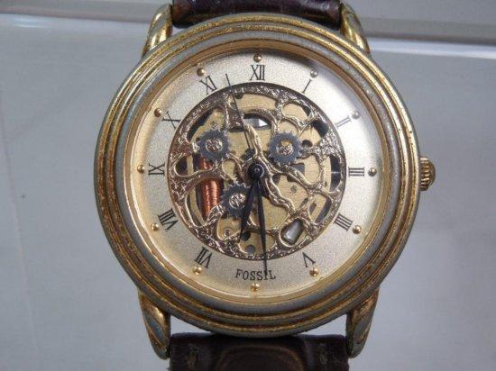 Nice Fossil Skeletonized Men's Watch