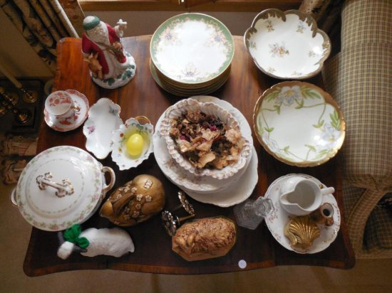 Large Group Lot Of China And Vintage Items