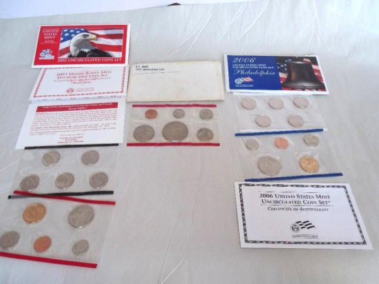 Group Lot Of Mint Coin Sets