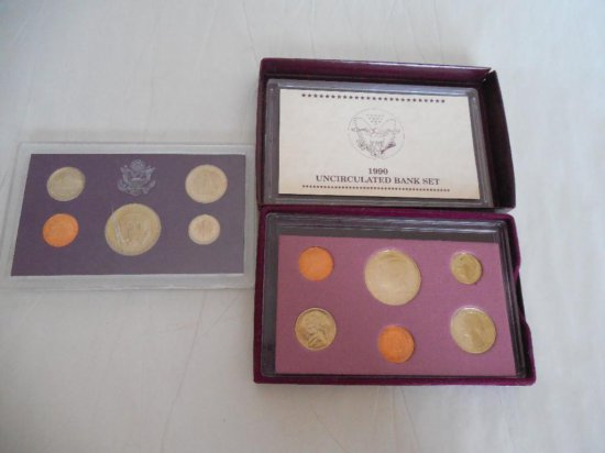 Group Lot Of Mint Coin Sets - 2 In Slabs