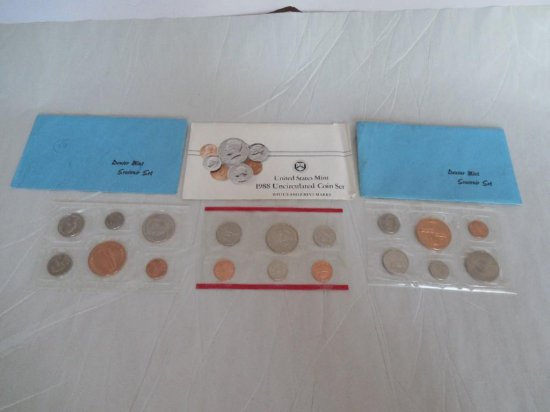 Mint Coin Set Lot Of 3