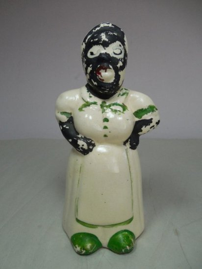 Vintage Ceramic Black Mammy Bank