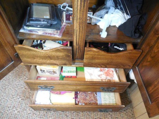 Large Lot - Contents Of Cabinet