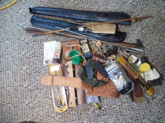 Very Large Lot Of Vintage Gun Related Items
