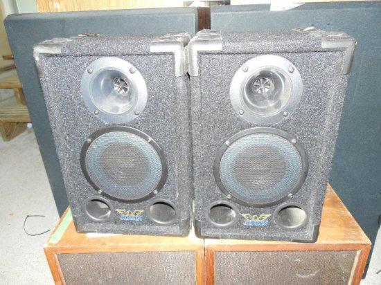 Pair of Nice Vintage Jensen Stereo Speakers