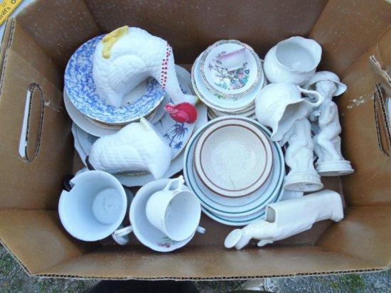 Group Lot Antique China, Ceramics