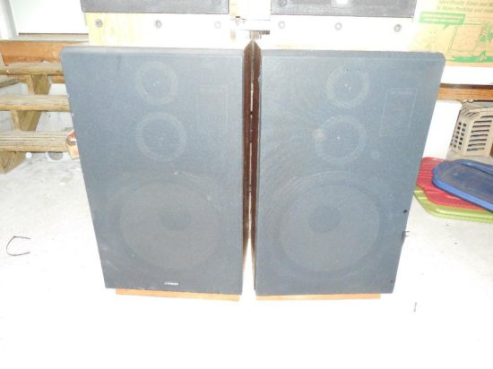 Pair of Vintage Fisher Stereo Speakers