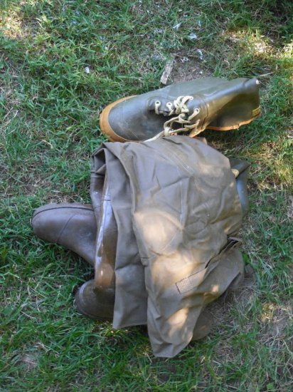 Rubber Boots, Waders Lot