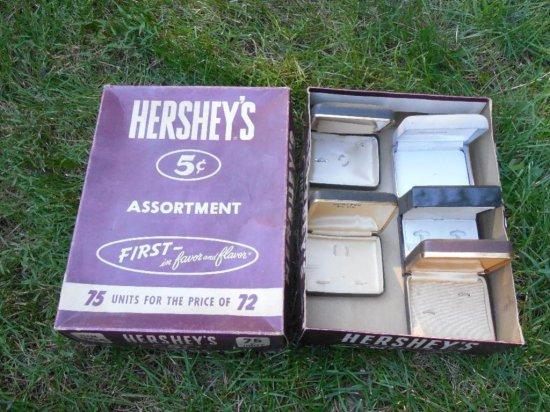 Old Hershey's Chocolate Box w/Jewelry Boxes