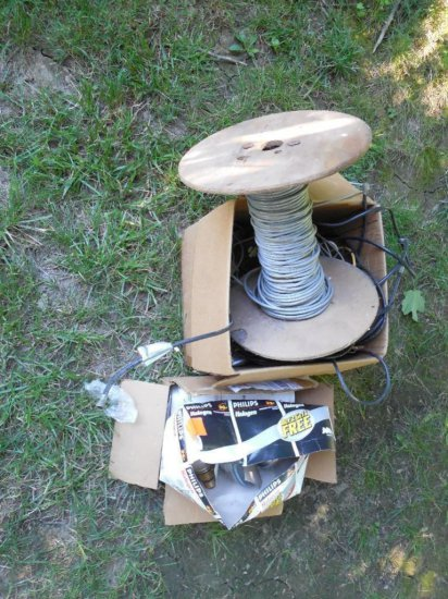 Large Lot of Wire - Scrapper's Delight