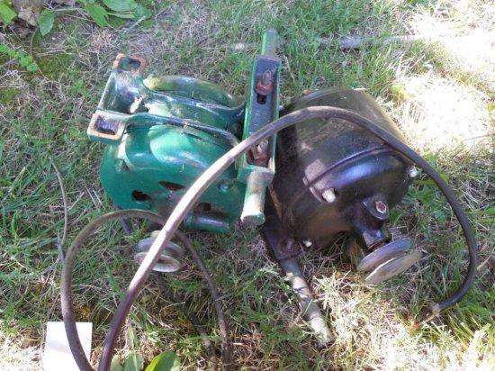 2 Heavy Old Electric Motors - Scrapper's Delight