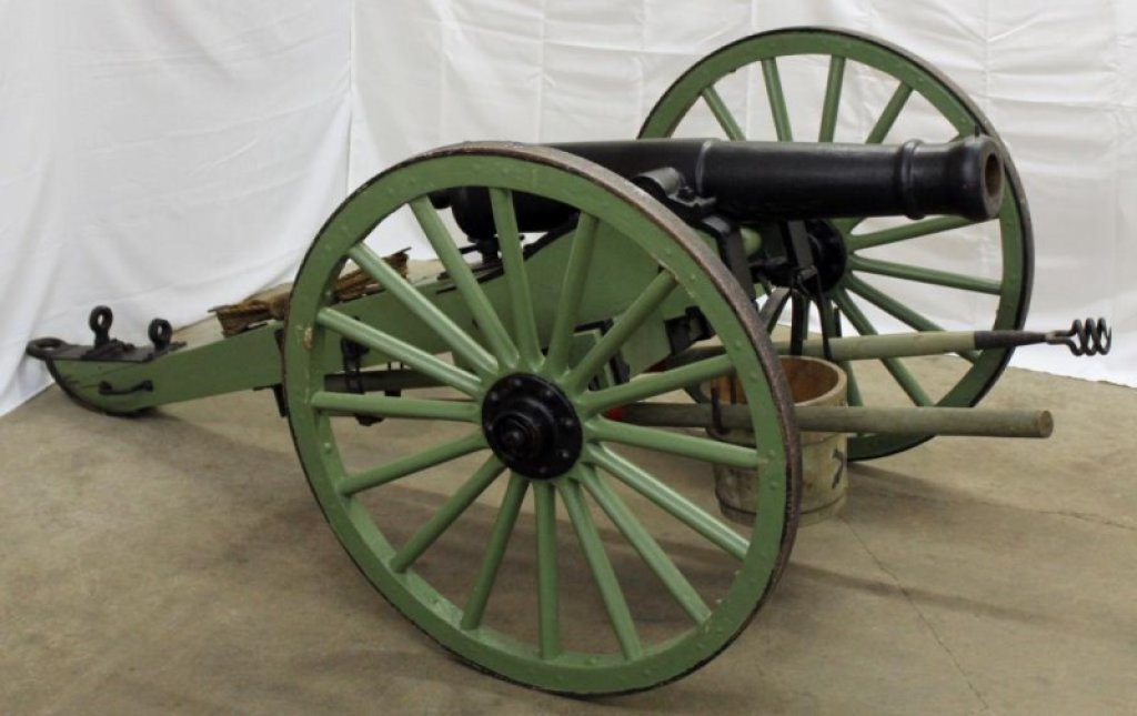"Harrington & Vandergrift 3"" smooth bore cannon"