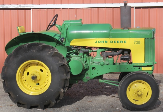 1960 JD 730 Standard, LP Gas tractor, wf, new paint, Excellent condition,