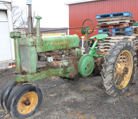 1934 GP A tractor, unstyled, Serial No. 410138