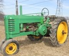 1941 JD B tractor, styled, Serial No. 116074