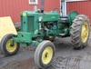 JD 420 tractor, no Serial No. plate, wf, 3 pt., fenders