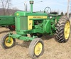 1957 JD 720 Diesel tractor, fenders, 3 pt., wf, Starting Engine, Serial No. 7205620