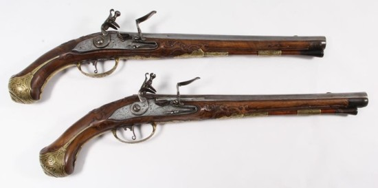*Ignati Mayr, Dueling pistol set,